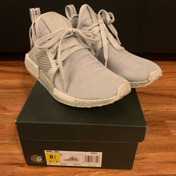 newest fe4d8 81761 adidas Other - Rare Almost brand new Adidas NMD XR1 triple grey.